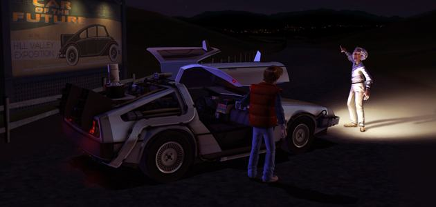 back to the future header Back To The Future Episode 1 Free Until July 31, Episode 4 Available Now