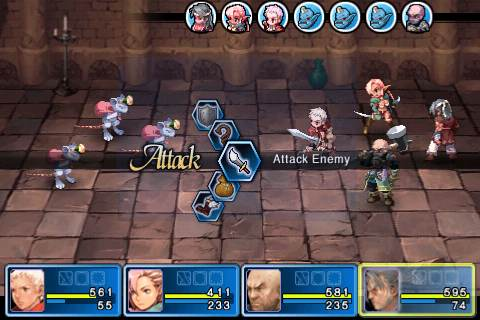 cgs battle Crimson Gem Saga Review   Console class RPG gameplay on your iOS device