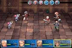 cgs battle4small Crimson Gem Saga Review   Console class RPG gameplay on your iOS device