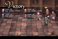 cgs battle6small Crimson Gem Saga Review   Console class RPG gameplay on your iOS device