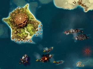 crimson steam pirates 1 <span>Bungie Revealed</span> First iPad Game: Crimson Steam Pirates