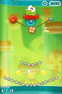 cut the rope experiments 3 Cut The Rope: Experiments Review: More Of The Same