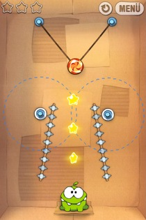 cut the rope 23 Cut the Rope Review   Everything Thats Fun About Puzzle Games is in These Boxes