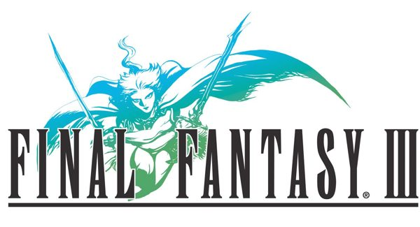 final fantasy III logo Final Fantasy III coming to iOS   Most likely ported from DS