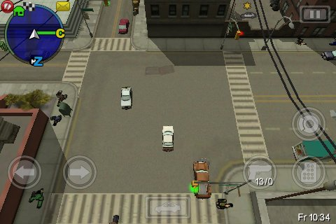 gta 28 GTA: Chinatown Wars Review   iPhone Gaming Is Growing Up