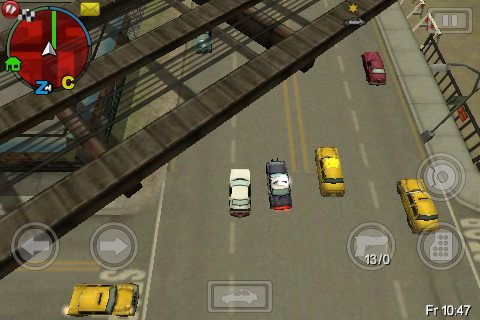 gta 29 GTA: Chinatown Wars Review   iPhone Gaming Is Growing Up
