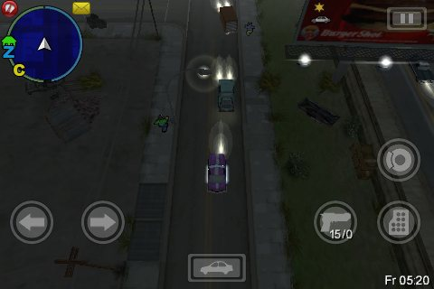 gta 3 GTA: Chinatown Wars Review   iPhone Gaming Is Growing Up