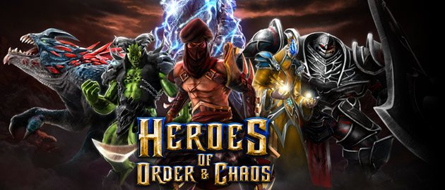 heroes of order and chaos header <span>Heroes Of Order & Chaos</span> First Impressions Of Gamelofts MOBA