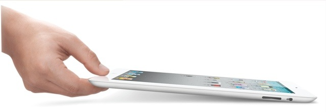 ipad2 white hand Apple iPad 2   Overview And Whats In It For Us Gamers