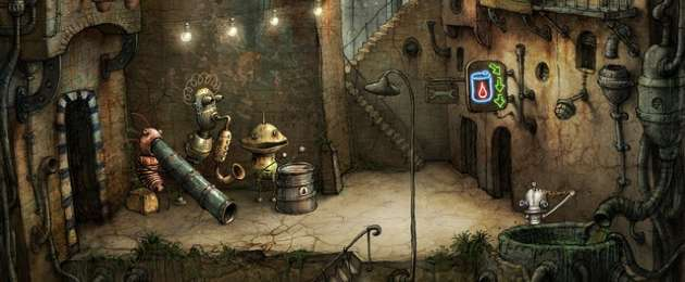 machinarium header <span>Machinarium</span> Submitted To The App Store, Requires iPad 2