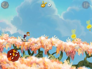 rayman jungle run 1 Rayman Jungle Run Review For iPhone   Yep, Its Awesome!