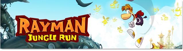 rayman jungle run header Rayman Jungle Run Review For iPhone   Yep, Its Awesome!