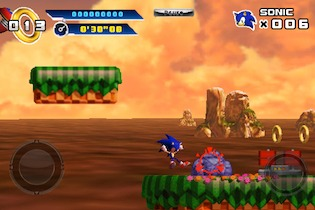 sonic 2 Sonic 4: Episode I Review   Did Sonic Get Into Shape For His iPhone Appearance?