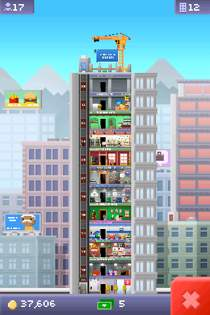 tiny tower 17 Tiny Tower Review   More Like A Huge Tower In A Tiny iPhone