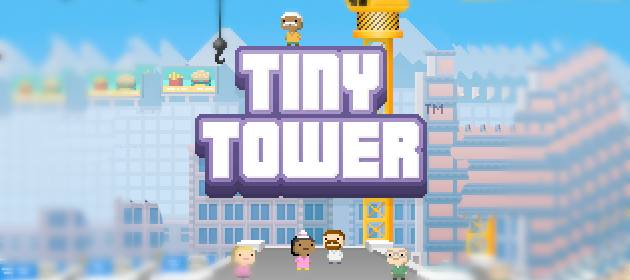 tiny tower header 2 Tiny Tower Review   More Like A Huge Tower In A Tiny iPhone